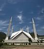 Faisal Mosque - Islamabad (яızωαи) Tags: pakistan perspective mosque lahore masjid shah faisal islamabad مسجد vertorama islamcultureandpeople
