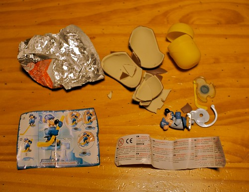Kinder egg gear