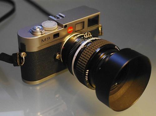 Leica M9 Nikon 50mm f1.2 MF