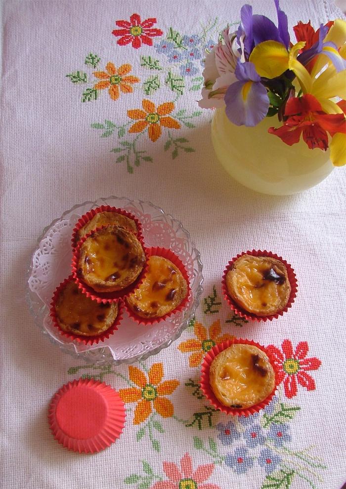 Portuguese cake - Pastel de Nata