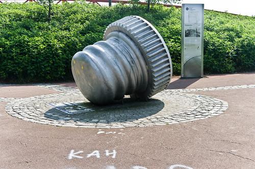 Belfast City - Public Art (Bottle Top)