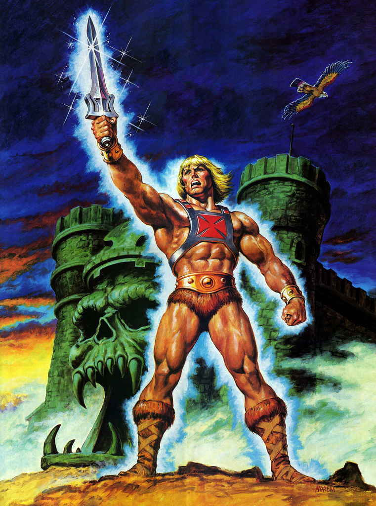Masters Of The Universe - 29 (painting by Earl Norem)