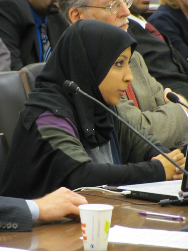 Maryam Al-Khawaja, Bahrain Center for Human Rights, testifies