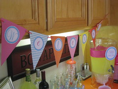 First Birthday Party - printable banner