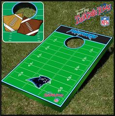 Carolina Panthers Bean Bag Toss Game