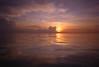 Haad Yao Sunset Water (darrenwool) Tags: ocean sunset storm film water reflections thailand kohphangan haadyao inthesea