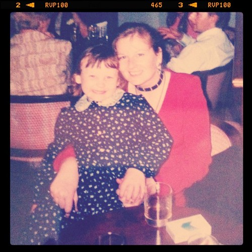 Me and my mum, when I was little!