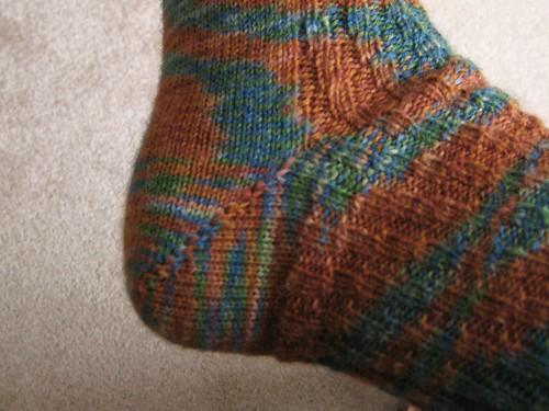 RR socks heel 022308
