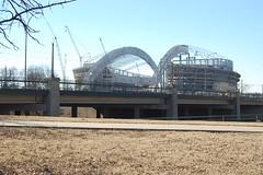 The House that Jerry Built - Dallas Cowboys New Stadium (Steve Carlton) Tags: new cowboys jones dallas nikon stadium jerry tony afs terrell owens romo d40 nikon1855mm nikon55200mm cowboysstadium nikon55200 nikon1855 nikond40