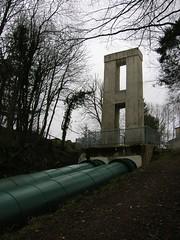 A (Mushkush) Tags: scotland bonnington lanarkshire penstock clydefalls