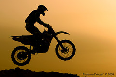 Motorcycle Silhouette.... (dawey [Mohammad Alhameed]) Tags: picturecollection dawey kuwaitvoluntaryworkcenter