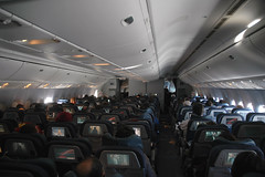 Large Cabin (caribb) Tags: travel modern airplane flying cabin interior aircraft aeroplane aerial seats movies spacious boeing traveling 777 videos onboard airliner avion ptv widebody 773 aircanada b777 ife aircraftinterior 777300 economyclass insideaplane ptvs 777300er twinaisle twinjet 77w b773 overheadbins 777333er 777333 cfitu entertainmentunits classeeconomie personalvideoscreens entertainmentscreens aircanada777cabin aircanadainterior aircanadacabin aircanadaeconomyclass 777interior aircanada777300interior
