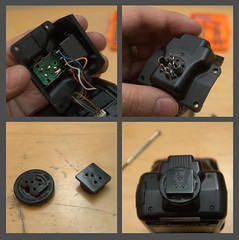 Fixing broken SB-24 plastic foot (Mikko Reinikainen) Tags: broken fix foot nikon flash plastic equipment repair instructions fixing repairing screwdriver replace hotshoe replacing sb24 d305 d3059006 d3059007 d3059009 d3059013