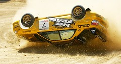 Colin McRae and Nicky Grist Rally Car Roll (Eric Wolfe) Tags: california usa cars carson jumping unitedstates accident subaru races automobiles mcrae crashing flipping collision xgames grist actionsports rallycarracing original:filename=2006080523453jpg