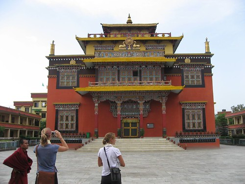 Local monastery by the stupa