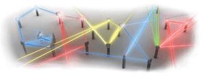 Google logo invención del laser