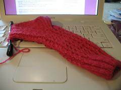 Baby Cable Rib Sock #2