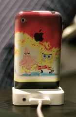 Flashyyy's iPhone (3bdlr7mannn) Tags: apple square pants bob sponge iphone flashyyy itaggedit3shanwayednasechofonaoye7sdonap 3adelajanbloye3abhumma3endhummashallap