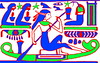 CAI JE29612 Maatkare D21a  BeG (inner) TOL6, woman rowing, restored, ERL0508 web (CESRAS) Tags: egypt tip burial coffin dynasty thebes bce d21 usurped 21a riec theban horemachet cesras babelgasus maatkare 1070945 21athebandynasty1070945bce