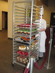 Pierre Hermé: A rack full with the products