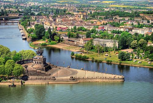 Koblenz en Alemania