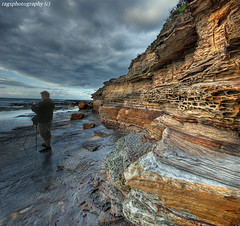 Vortex  ! Sydney Rocks ! (Ragstatic) Tags: sea seascape color water clouds nikon rocks rags ominous sydney blending photgrapher d80 turimetta rags1969 vision100