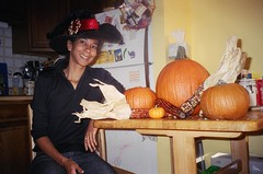 J9 and Pumpkins (edenpictures) Tags: halloween witch pumpkins janine