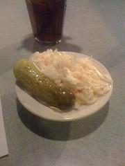 IMG_0131 (slist72) Tags: moblog pickle coleslaw