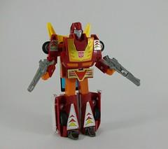 Transformers Hot Rod G1 - modo robot