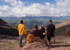 Looking forward to another great day. (benrobertsabq) Tags: 2008 telluridetomoab mmbm monopodmountainbikemadness june713