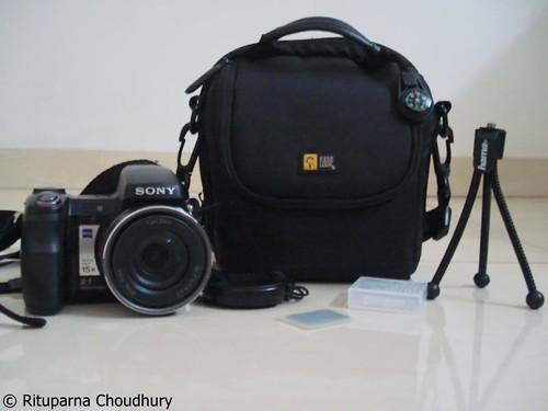 case logic camera bag @ home, pune