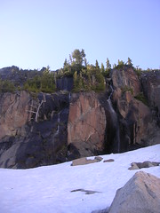 Waterfalls in the basin