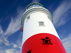 Portland Bill Lighthouse (sminky_pinky100 (In and Out)) Tags: blue red summer sky lighthouse white coastal shore cloudscapes portlandbill fotoclub personalbest fineartphotos mywinners omot anawesomeshot colorphotoaward colourphotoaward windsandandwater eyejewel fiveflickrfavs colorsinourworld