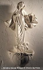 Bénitier Vierge Marie