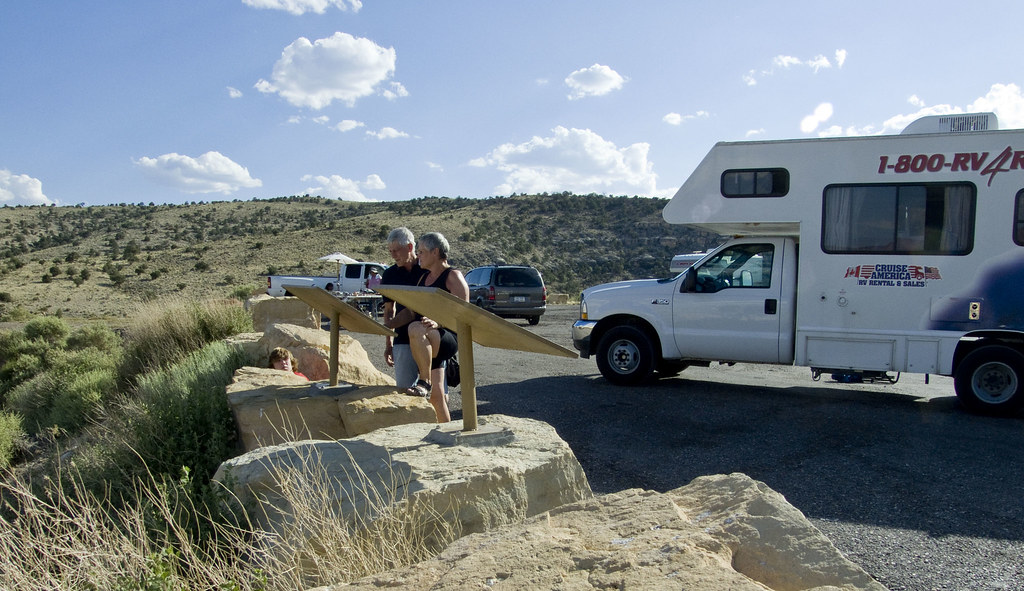 RV Breakdown at House Rock Canyon on Highway 89A