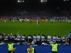 Italia - Franciam dalla curva: fasi di gioco...