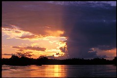 Sunset on the Xingu
