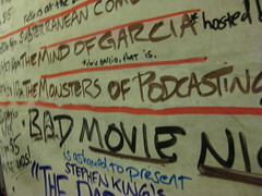 Monsters of Podcasting (2) (Poppyseed Bandits) Tags: sf sanfrancisco california ca darkroom youlooknicetoday takenbyjeff powershotsd1100 ylnt jordanjessego monstersofpodcasting
