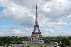 Eiffel Clouds