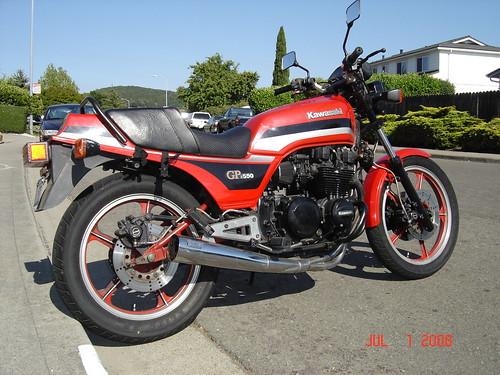 1983 Kawasaki Kz550H GPz
