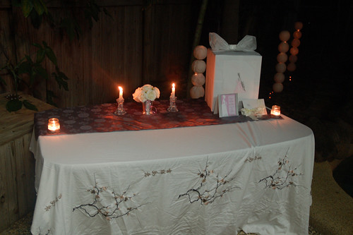 Jess' Bridal Shower - Gift Table