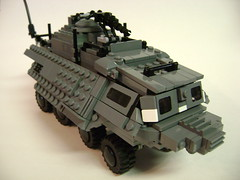 The Mole (Battledog) Tags: tank lego military fear wheeled future vehicle moc
