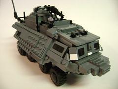 The Mole (Battledog) Tags: tank lego military fear wheeled future vehicle moc