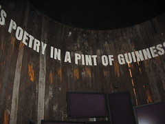Poetry in a Pint of Guinness