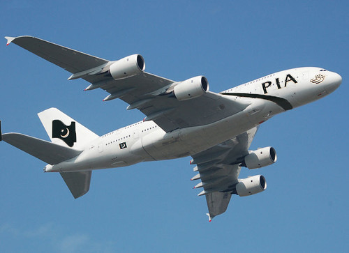 Pakistan Super Heavy A380 Test Flight over Paris, Pakistan will inaugurate its 1st A380 on Lahore - New York route. Pakistan recently confirmed a lease order of ten A380 at cost of 3.8 billion USD. Th