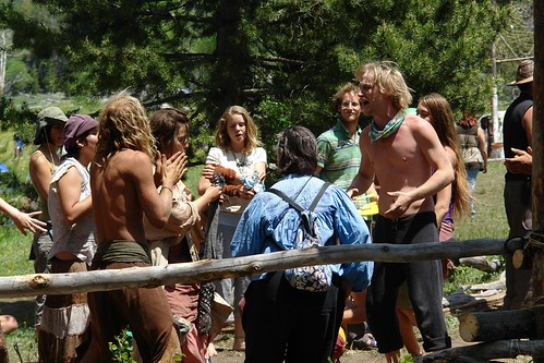 Singing Praise for the Kitchen-Rainbow Gathering