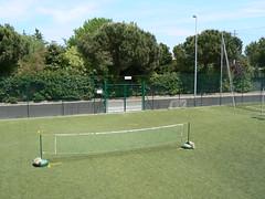 campo da calcio-tennis