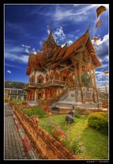 Wat Mahawan @ Chiang Mai (Thailand) - HDR (Eric Rousset) Tags: voyage travel fab architecture photoshop thailand temple photography reflex bravo asia raw cs2 flag sony sigma buddhism wideangle thaïlande adobe chapeau chiangmai asie bec wat 2008 hdr highdynamicrange orton photomanipulated bpp gbr ogm postprocessing blueribbonwinner photomatix sigma1020 supershot tonemapping flickrsbest rosedunord sonydslra100 platinumphoto hdrenfrancais infinestyle diamondclassphotographer flickrdiamond megashot bratanesque mahawan watmahawan ysplix theunforgettablepictures theperfectphotographer goldstaraward nouvellecitée life~asiseeit ericrousset alemdagqualityonlyclub damniwishidtakenthat magicdonkeysbest davincitouch photoexel obq atqueartificia ericroussetphotography ihopeeverythingisok saariysqualitypictures