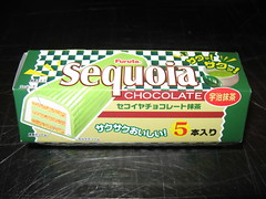 Mitsuwa Marketplace: Furuta - Sequoia chocolate - matcha (in packaging)