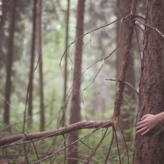 автопортрет 119й день (tomato_senya) Tags: trees summer selfportrait colour green me nature hands bodylanguage 365ru